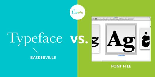 diferencia entre tipografia y fuente
