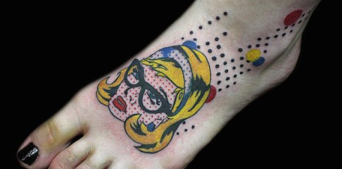 tattoo-Roy-Lichtenstein-01